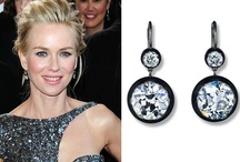 Edgy With Class - 2013 Oscars / This year's Oscars presented an overall trend of a classy yet edgy look. Diamonds, blackened metals, colored gemstones and statement pieces rocked the awards in 2013!