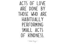 Week Five - Random Acts of Kindness / We can be kind....