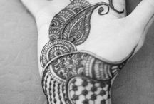 Zentangle/henna/pattern ideas