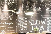 Blackboard & wall ideas