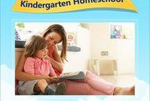 Kindergarten Homeschool Helps / Resources, games, tips, and more for homeschooling in kindergarten.