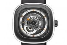 SevenFriday Watches / SEVENFRIDAY have taken the social media world by storm. Steel, industrial plants, tools, engines, machines, wheels – the brand'suniverse as well as its designs are strongly inspired by those elements. Theproducts are a result of this inspirations in combination with high endproduction and complex construction. It is a merger of contrasting materials andstyles in harmony. SEVENFRIDAY appeal to individuals with highdemands in regards to design, quality and uniqueness. #SEVENFRIDAY #TGISF