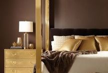 Master Bed Layering / Add volume and drama to a master bedroom with strategic pillow layering.