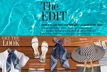 The Edit / We help you put together the latest looks and show you clever and contemporary ways of including scarves and scarf rings to give you a stylish edge.  / by ScarfRing.Com