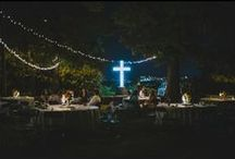 Reception Ideas / Mount Sequoyah has indoor and outdoor spaces for your reception and rehearsal dinner. Here's some cool ideas!