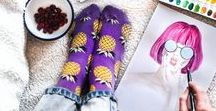 Spring Summer 2017: Instagram favorites / A fun collection of Happy Socks Spring Summer 17 from our favorite influencers on Instagram!