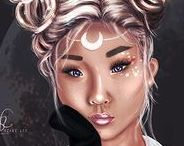 My artworks / Check out my Digital Paintings! :)