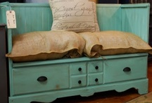 Just Paint It: Furniture / how to paint, prime, sand, spray, arrange, decoupage, and sometimes even build furniture.