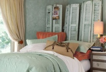 Decor: Bedrooms / Finding tranquil & soothing inspiration for decorating my favorite room in the home.