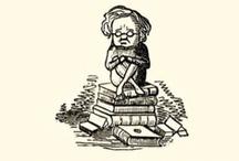 Books, books, & more books! / by Amy Vaughn