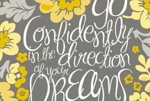 words of wisdom / by Brittany Lybrand