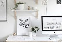 Art Studio Inspiration / Art Studio Inspiration - Trendy Designs and Interiors that are perfect for a Work Room, Office or Art Studio. Be Inspired!