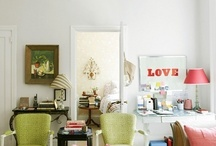 Living Areas / by Greta Schrimsher