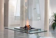 Chimeneas / Fireplaces / by Dámaso Lapique