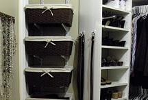 closet organization / by Sheryl Householder