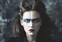 face / makeup & face paint  / by Sam Hamilton