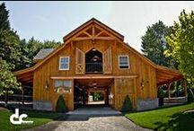 Barns / A compileation of barns, horse barns, workshops and barn homes
