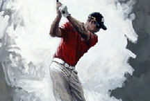 Fabulous Golf Portraits from Chisholm Gallery, LLC / We also specialize in Portraits of Famous Golfers~