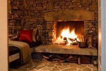 Fireplaces / by Aurore S.