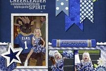 Cheerleading layouts / by Sheryl Householder