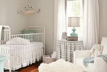 Home: Nursery Spaces / Rock-A-Bye Baby... Bedroom Ideas for Babies / by Tiffany Whichard Duke