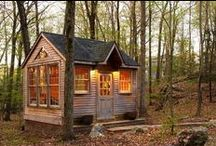 Cabin ideas/Small Space Living / Ideas for our little getaway / by Allie Harrison