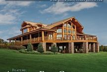 Rustic Architecture Snapshot Map / Follow us as we feature exceptional places to build a rustic style home! / by PrecisionCraft Log and Timber Homes
