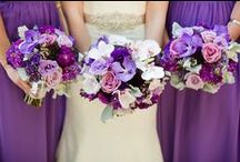 KJP Weddings | Plum, Lavender, Orchid, Purple Tones / by Katelyn James Photography