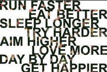 Stay healthy. / by Jennifer