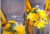 KJP Weddings | Yellow, Gold, Mustard, Lemon Tones / by Katelyn James Photography