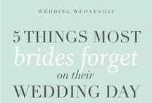 KJ Brides / Wedding and Bridal Resources. Education for Brides.  Everything Brides Should Know. Wedding Planning Tools. / by Katelyn James Photography