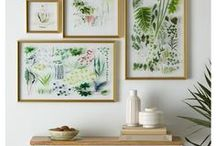 Floral Wall Art / Flower and artwork for your wall to spice up your minimalist home decor!