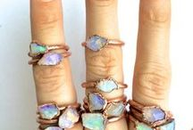 Gemstone Accessories / gemstones carry healing powers, so carry them with you with in rings, earrings and necklaces!