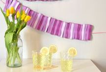 DIY Party Decorations / Party supplies, decorations, DIY tutorials, and printables! / by Hello My Sweet