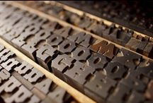 Old Wood Type / Wood type that I find online and offline...