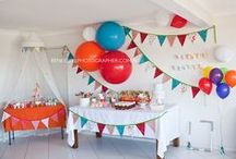 Vintage Circus Carnival Party Ideas / A vintage circus or carnival themed birthday party ideas from http://www.hellomysweet.me / by Hello My Sweet
