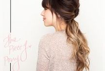 Hair Styles & Tutorials / Tutorials on how to do awesome things to style your hair. / by Hello My Sweet