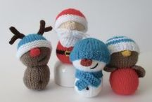 Christmas / Festive craft ideas to knit, sew and crochet