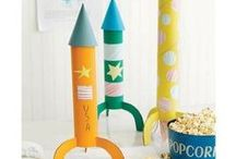 Dessert Table - Retro Space, Rocket Ships & Rayguns / by Hello My Sweet