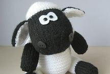 Sheep / Loopy sheep to knit and crochet