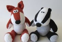 Animals / Cute animals to knit, sew and crochet