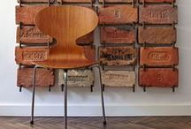 Industrial Chic Living Room / by Hello My Sweet