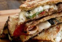 Savory & Sweet Sandwiches / Delicious food sandwiched in between two slices of bread (or cookies!) / by Bon'App