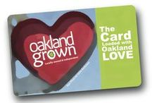 Where to Spend Oakland Grown Gift Card / Check out the wonderful businesses you can use your Oakland Grown Gift Card! / by Shift Local