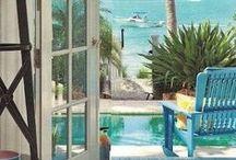 Coastal Life & Style / Cool and serene coastal decor, design, style and DIY ideas