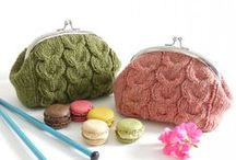 Bags / knitted bags, purses, wallets, totes, holdalls, everything to keep your stuff handy!