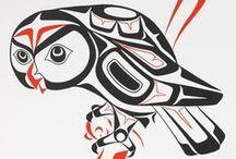 Haida tattoo inspiration / Inspiritatie voor een tattoo ter ere van mijn familie
