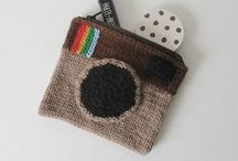 Instagram / Camera shaped knit and crochet