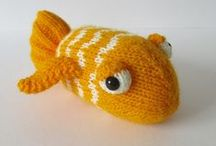 Fish / Knit and crochet fishies