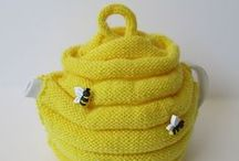 Tea Cosies / Knitted teapot warmers